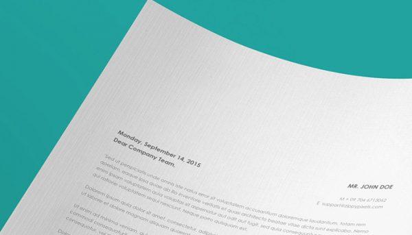 Redpixel Premium Letterhead