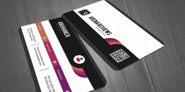 Redpixel Visitng Card die cut