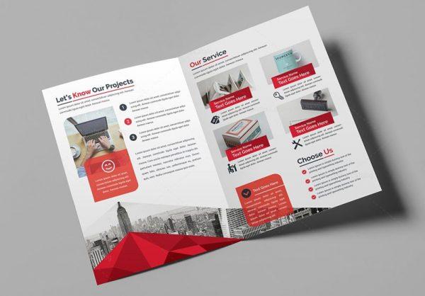 Redpixel A5 2 fold Brochure