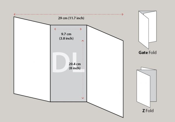 Redpixels DL 3 Fold Brochure